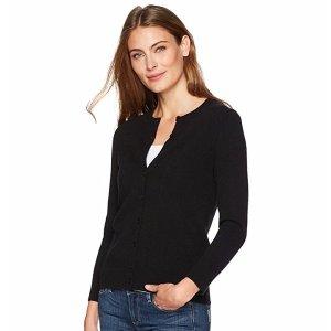 $57.50低至5折 Lark & Ro 100%开司米 女士羊绒衫