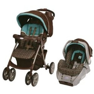 Graco Spree Classic Connect Travel System w/SnugRide Classic Connect Ollie