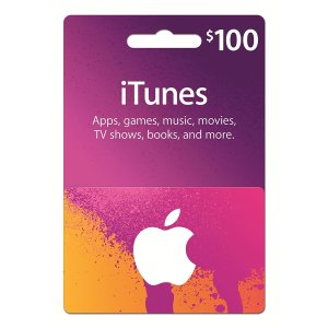 Lightning Deal $90iTunes Gift Card $100