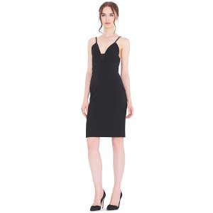 Jean Lace Insert Dress