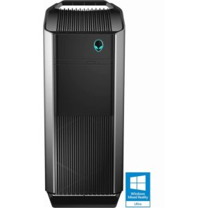 Alienware - Aurora R5 Desktop - Intel Core i7 - 16GB Memory - NVIDIA GeForce GTX 1070 - 256GB Solid State Drive + 1TB Hard Drive - Silver