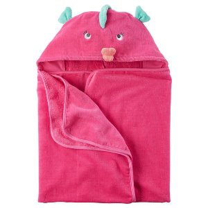 Baby Girl Fish Hooded Towel | Carters.com