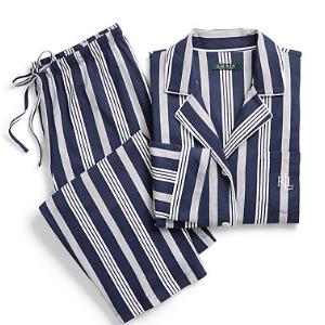 Striped Capri Pajama Set - Sleepwear & Robes � Women - RalphLauren.com