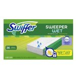 Swiffer Sweeper Wet Sweeping Pad Refills, Hardwood Floor Mop Cleaner, Cloth Refill, Lavendar Vanilla and Comfort Scent, 36 Count
