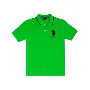 Boys Big Logo Polo Shirt