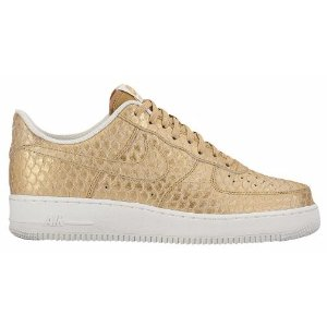 Nike Air Force 1 LV8 - Men's - Basketball - Shoes - Metallic Gold/Summit White/Metallic Gold