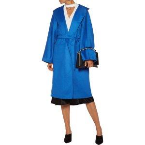 Cashmere-felt coat