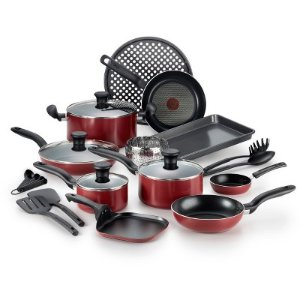 T-fal 20Pc Nonstick Cook Set