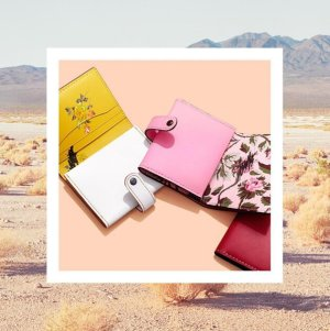 Up to 50% OffSelect Wallets and Wristlets @ Coach