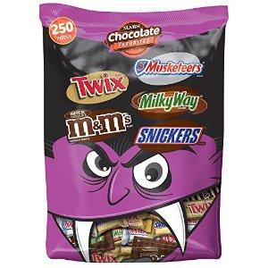 MARS Chocolate Favorites 万圣节糖果 96.2-Ounce 250个