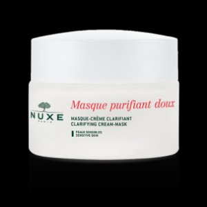 Clarifying Cream Mask Rose Petals, Facial Cleanser - NUXE