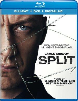 $19.96(原价$34.98)Split 分裂(蓝光 + DVD + 数字高清版) 不锁区
