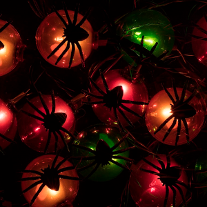 10 Count Spider Halloween String Light 11.5 feet - Monoprice.com