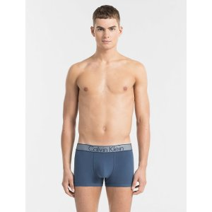 customized stretch cotton low rise trunk | Calvin Klein