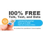 FreedomPop GSM 4G LTE SIM + 1月无限量通话4GB共享流量