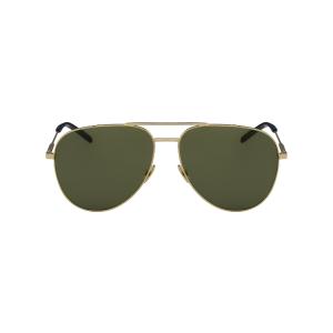 Saint Laurent Classic 11 Sunglasses | Metal Aviator | Eyeconic.com