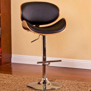 Modern Adjustable Swivel Barstool
