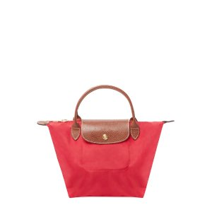 Le Pliage Short Handle Small Nylon Tote by Longchamp at Gilt