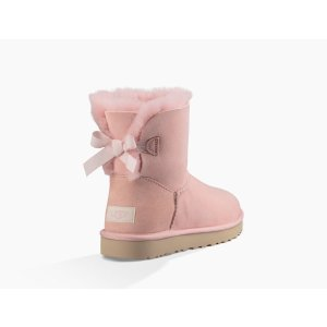 UGG® | Women's Mini Bailey Bow Stripe Classic Boot | Free Shipping on UGG.com