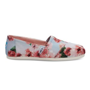 Pink Graphic Floral Print Women's Classics