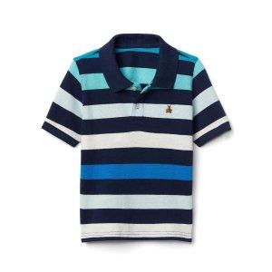Stripe short sleeve polo | Gap