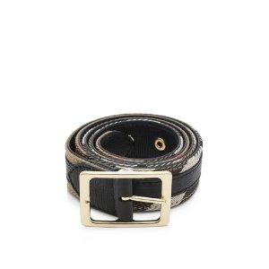 Burberry Reversible House Check 30 Belt