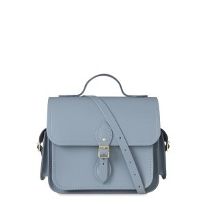 French Grey Large Traveller Bag With Side Pockets | The Cambridge Satchel Company