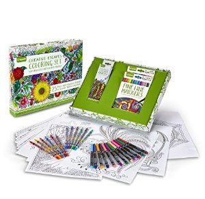 $5.72Crayola Adult Coloring Book & Marker Art Activity Set