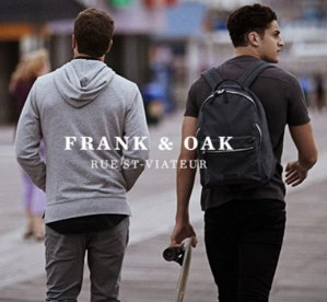 1 Day Only! 40% OffAny Purchase @ Frank + Oak