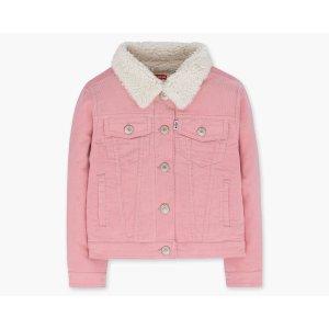 Girls (7-16) Sherpa Trucker Jacket | Blush |Levi's® United States (US)