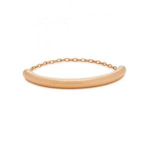 Vita Fede Luna 24kt rose gold-plated bracelet
