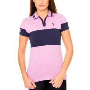 Zip Up Polo Shirt - U.S. Polo Assn.