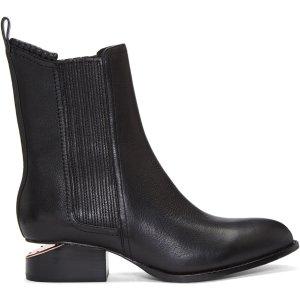 Alexander Wang: Black Anouck Boots