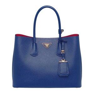 Prada Cornflower Blue Safiano Handbag | zulily