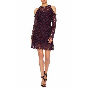 Cutout Lace Mini Dress   Moda Operandi