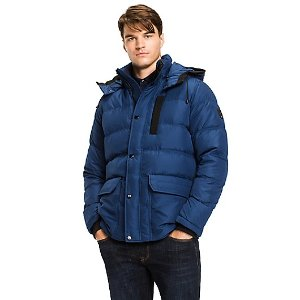 TOMMY HOODED DOWN BOMBER | Tommy Hilfiger