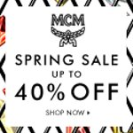 Up to 40% off Summer Sale @ MCM Worldwide