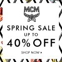 Dealmoon Exclusive Early Access Up to 40% off Summer Sale @ MCM Worldwide