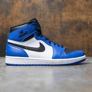 Jordan AJ 1 High - Men's - Basketball - Shoes - Soar/Black/White