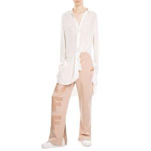 Cotton Sweatpants - Off White | WOMEN | US STYLEBOP.COM