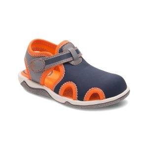 Stride Rite Navy & Orange SR Koy Sandal | zulily