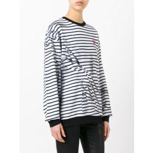 McQ Alexander McQueen Broken Stripe Sweatshirt