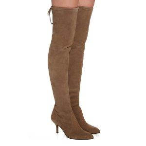 Tiemodel Over-the-Knee Suede Boots   Moda Operandi