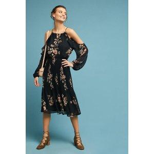 Jocelyn Open-Shoulder Dress