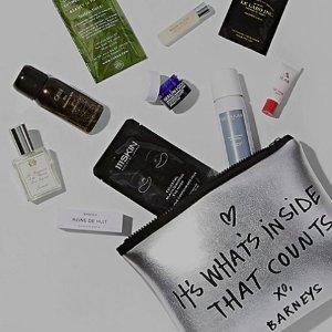 免税+23件礼包+品牌礼包Barneys美妆产品满额送豪礼 入La Mer,Cpb,卤蛋香水