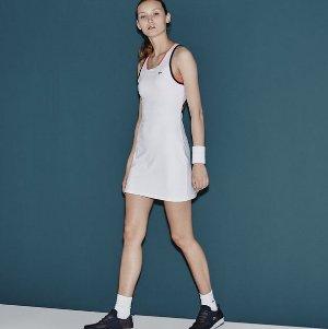 $61.99($125)Lacoste Women's SPORT Mesh Layer Racerback Technical Tennis Dress