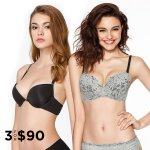 Push-Up Bras Sale @ Eve's Temptation