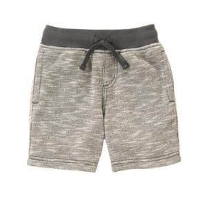 Toddler Boys Heather Grey Pull-On Shorts by Gymboree