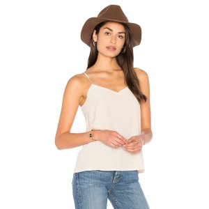 American Vintage Riswell Cami in Pearl   REVOLVE