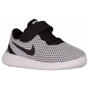 Nike Free RN - Boys' Toddler - Running - Shoes - White/Black